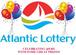 Atlantic Lottery: Celebrating 10yrs