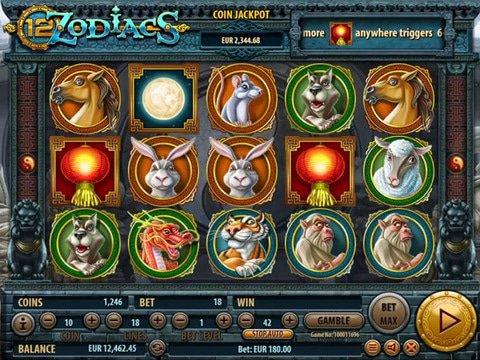 12 Zodiacs Game Preview