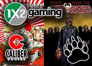 1x2Gaming Caliber Comics Online Slots Coming Soon