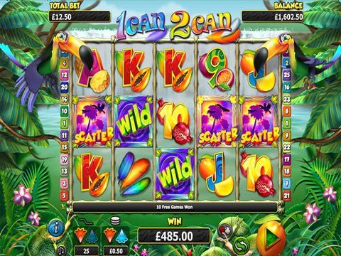 Play The 1Can 2Can Slot Machine With No Download