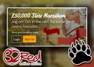 32Red slots marathon