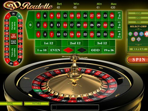 3D Roulette Game Preview