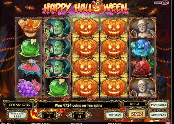 Happy Halloween Slot Machine 2017