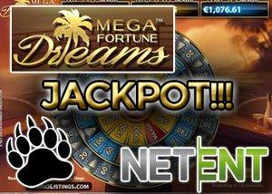 €4.6 Milion NetEnt Jackpot Hit