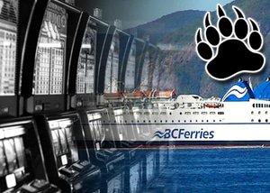 no BC slot machines on ferries