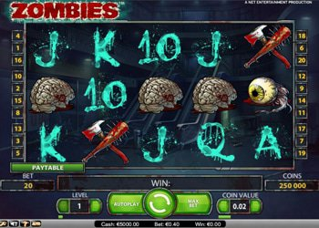 Zombies Halloween Slot Machine 2017