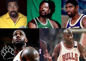 The 5 Most Influential NBA Players of All Time