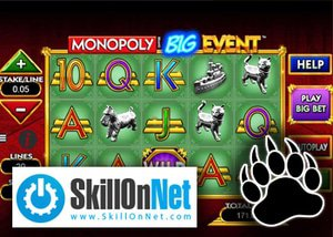 SkillOnNet Monopoly Slot Now Available