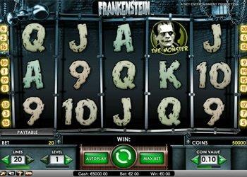 Frankenstein Halloween Slot Machine 2017