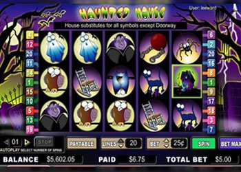 Haunted House Halloween Slot Machine 2017
