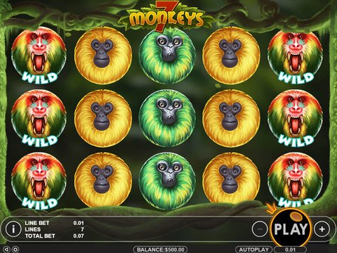 7 Monkeys Game Preview