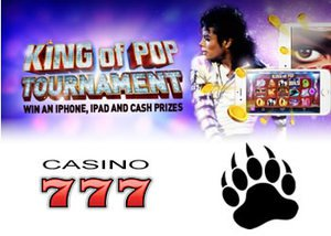 777 casino tournament - king of pop