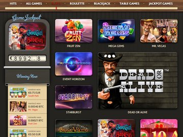 7bit Casino Software Preview