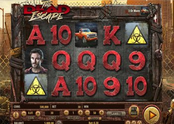 The Dead Escape Halloween Slot Machine 2017