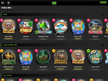 888 Casino Software Preview