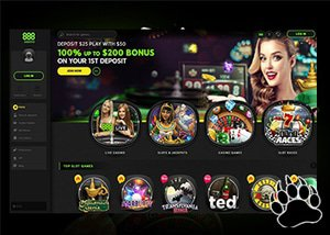 888 Casino Reveals New Website Design