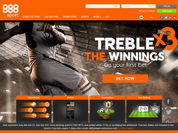 888 Sports Betting Review 2017