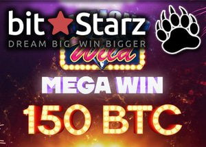 Bitcoin online casino winner