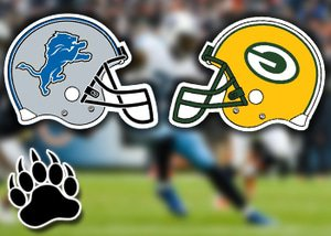 nfl betting offs week 9 detroit lions green bay packers