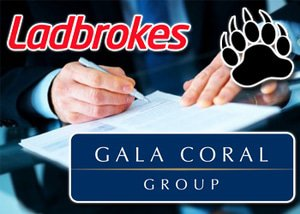 Gala Coral Ladbrokes Merger Approval Makes Top 5 Biggest Gambling Co's