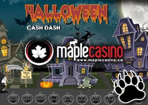 Halloween Cash Dash Tournament with Maple Casino