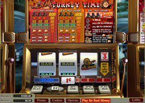 Turkey Time Canadian Thanksgiving 2017 Slot