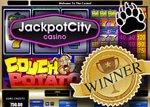 jackpot won on couch potato slot machine