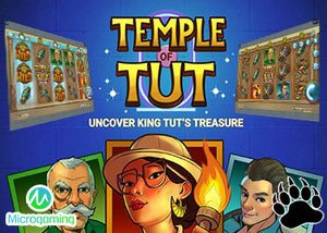 Microgaming New Temple of Tut Slot