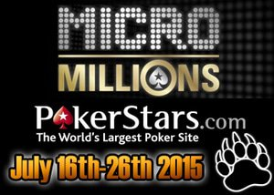 MicroMillions Tournament Series Returns to PokerStars