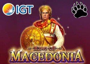 new King of Macedonia slot ITG casinos