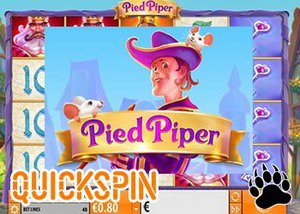 New Pied Piper Slot Quickspin Casinos