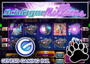 schlagermillions new slot genesis gaming casinos