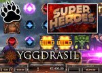 New Super Heroes slot from Yggdrasil