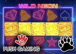 wild neon new slot from push gaming