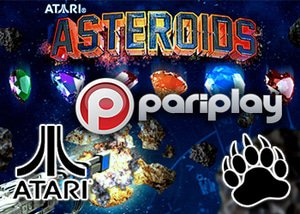 Asrtoids casino slot game