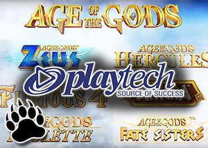 playtech's age of god slots series