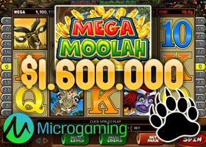 Microgaming's Mega Moolah Jackpot Won Again for $1.6 Million