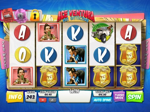 Play No Download Ace Ventura Slot Machine Free Here