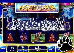 Playtech to Launch New Slot - Age of the Gods