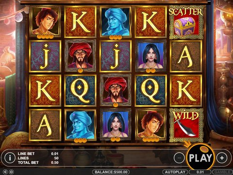 Aladdin's Treasure Slot - Play Online for Free Now