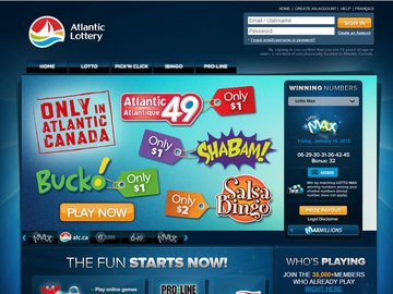 ALC Casino Homepage Preview