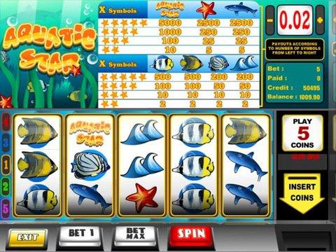 No Download Aquatic Star Slots Are Simple And Fun