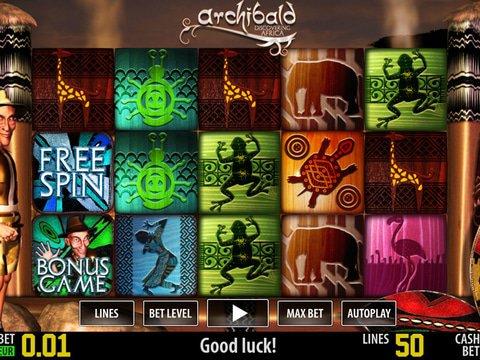 Spiele Archibald Africa - Video Slots Online