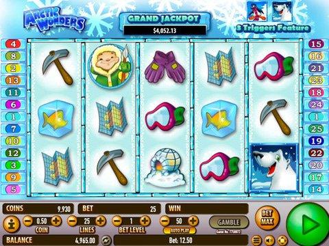 Play Snow Wonder Slot Machine Free with No Download
