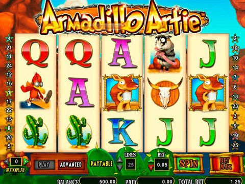 Armadillo Artie Game Preview