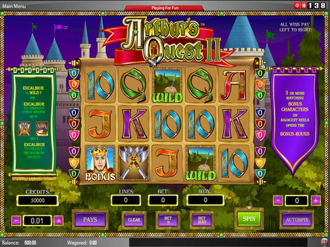 Relax With The ArthurS Quest 2 Slots With No Download