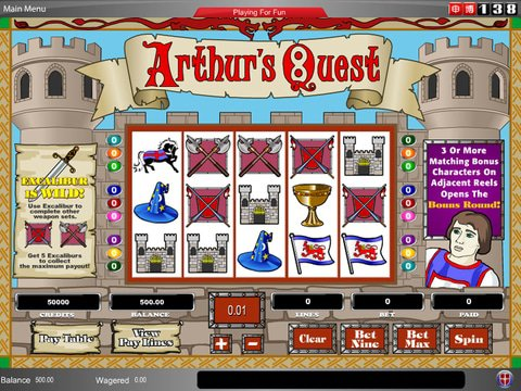 Arthurs Quest Game Preview