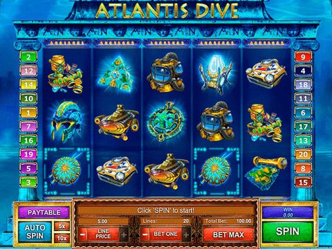 Atlantis Dive Game Preview