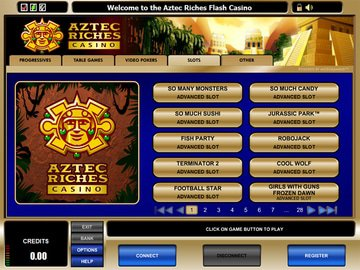 Aztec Riches Casino Software Preview