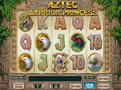 Aztec Warrior Princess Game Preview
